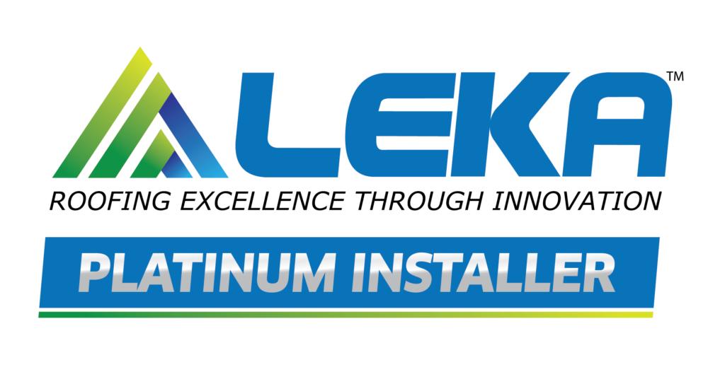 LEKA platinum installer logo -wbg-01